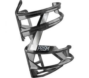 ELITE košík PRISM RIGHT Carbon černý lesklý/bílý