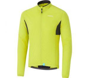 SHIMANO COMPACT WINDBREAKER bunda, neonově žlutá, XXL