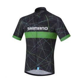 SHIMANO TEAM dres, černá, XL