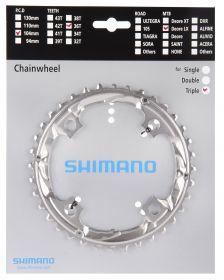 SHIMANO převodník SLX FC-M660 36 z 9 spd trojpřevodník pro 48-36-26 z stříbrná