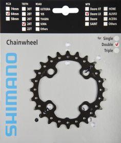 SHIMANO převodník MTB/Trekking-ostatní 24 z 10 spd dvojpřevodník AM pro 38-24 z