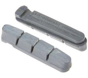 SHIMANO destičky pro kazetový typ brzdových špalíků R55C3, silniční, 2 páry