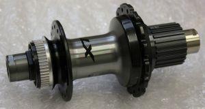 SHIMANO nába zadní XTR FH-M9111 pro kotouč (centerlock) 12 rychl 32 děr pro E-thru 12 mm bal