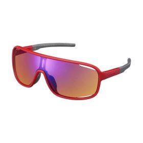 SHIMANO brýle CE-TCNM1MR, ostře červená, skla oranžovo-modrá zrcadlová