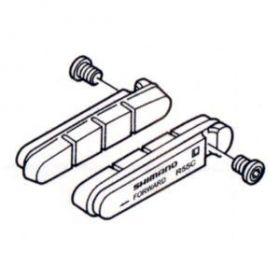 SHIMANO destičky pro kazetový typ brzdových špalíků R55C ceramic, silniční, 1 pár