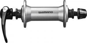 SHIMANO nába přední ALIVIO HB-T4000 pro ráfkovou brzdu 32 děr RU: 133 mm stříbrná