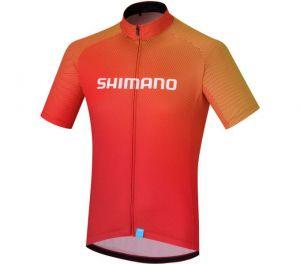 SHIMANO TEAM dres, červená, L