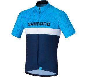 SHIMANO TEAM dres, námořní, XXL