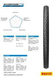 Plášť Pirelli Scorpion MTB S Lite 29 x 2.2