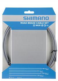 SHIMANO brzd set pro sil SIL-TEC z nerez oceli lan: 2000mm + 2050mm bow: SLR 1400+800 mm šedý