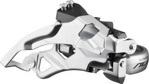 SHIMANO přesmykač ALIVIO FD-T400 MTB pro 3x9 obj 31,8 Top-swing dual pull 44/48 z