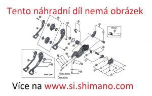 SHIMANO set s lanky řazení pro silnici OT-SP41 OPTISLIC bílý