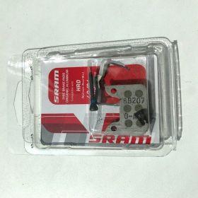 Brzdové destičky organika/hliník (v bal. pin,závlačka a pružinka)-SRAM HRD, Level ULT,TLM