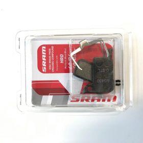Brzdové destičky organika/ocel (v balení pin,závlačka a pružinka)-SRAM HRD, Level ULT,TLM