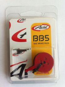 Brzdové destičky organické pouze pro brzdy BB5 (1 pár)