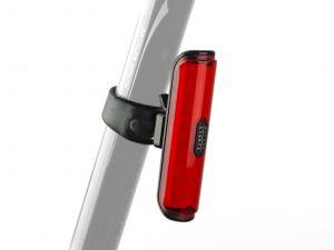AUTHOR Světlo zad. A-Pilot USB CobLed 50 lm  (černá/červené-sklo)