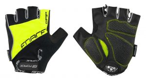 rukavice FORCE GRIP gel, fluo XL