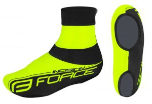 návleky treter FORCE INCISION lycra,fluo-černéL-XL
