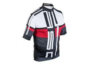 AUTHOR Dres Men Sport X7 ASC k/r L (červená/bílá/černá)
