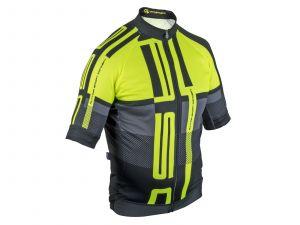AUTHOR Dres Men Sport X7 ASC k/r L (žlutá-neonová/černá)