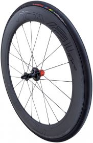 zapletené kolo CLX 64 REAR SATIN CARBON/GLOSS BLK