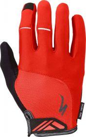 dlouhoprsté rukavice Specialized BG DUAL GEL LF RED M