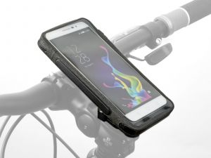 AUTHOR Pouzdro na telefon Shell X9 168 x 88 x 15 mm (černá)