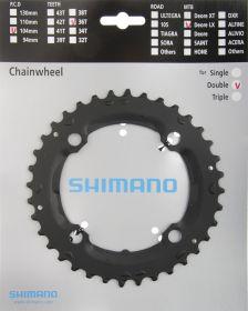 SHIMANO převodník SLX FC-M665 36 z 9 spd dvojpřevodník černá