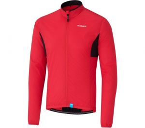 SHIMANO COMPACT WINDBREAKER bunda, červená, XL