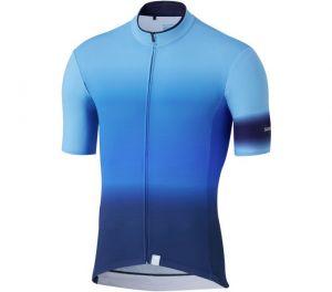 SHIMANO MIRROR COOL dres, modrý, L