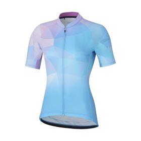 SHIMANO MIZUKI dres, dámský, modrá/růžová, L