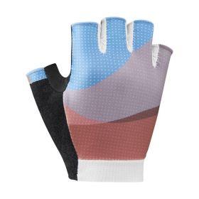 SHIMANO SUMIRE rukavice dámské, modré/oranžové, L