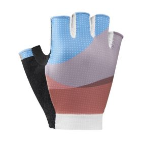 SHIMANO SUMIRE rukavice dámské, modré/oranžové, S