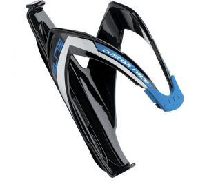 ELITE košík CUSTOM RACE černý/modrý, lesklý
