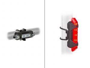 AUTHOR Světlo sada A-Stake Mini USB  (černá)