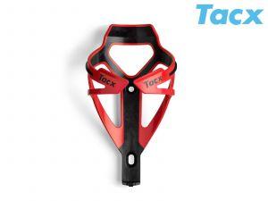 TACX Košík TACX Deva  (červená/karbon)