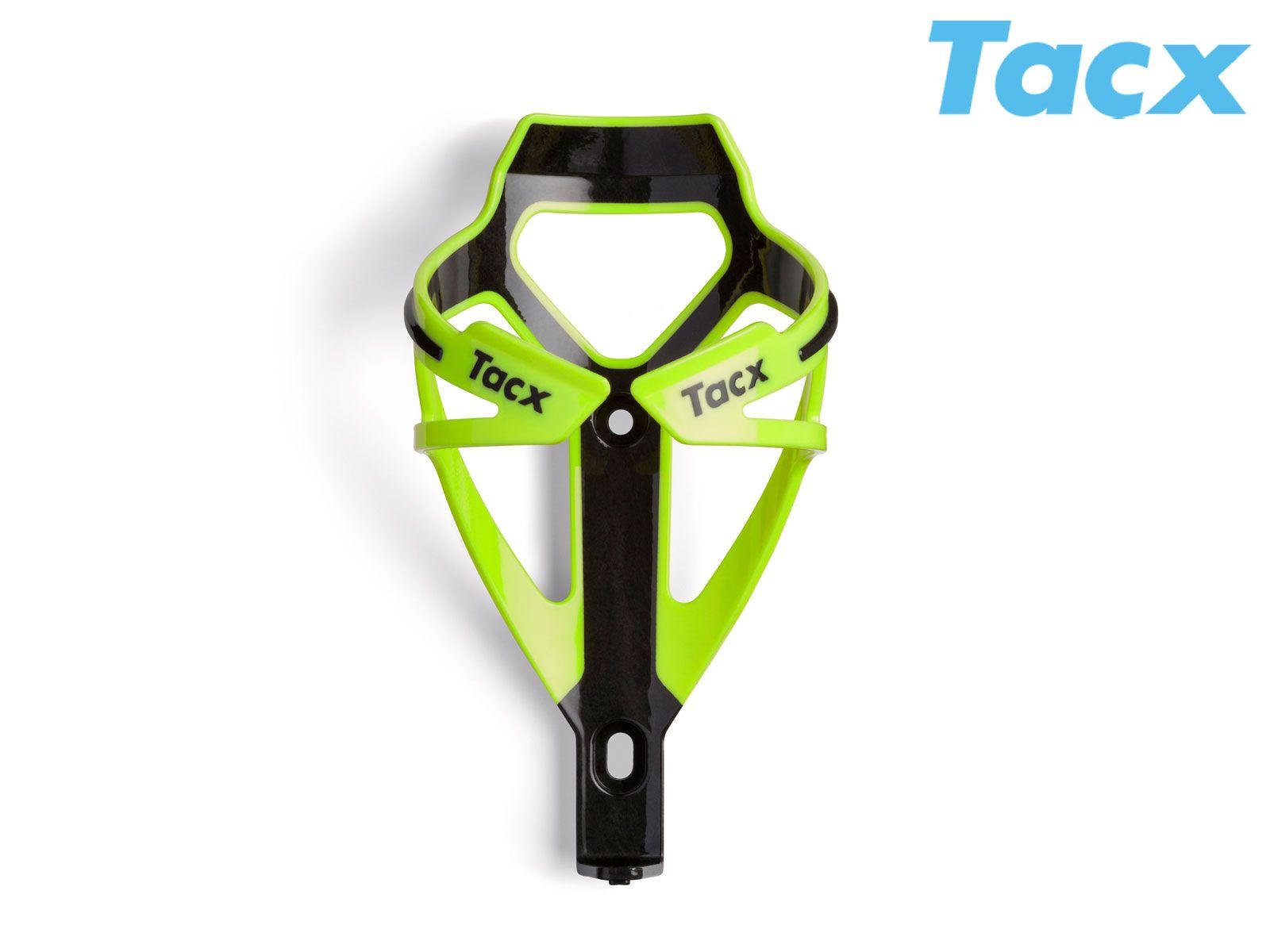 TACX Košík TACX Deva (zelená-neonová/karbon)