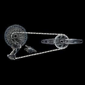 00.7918.095.000 - SRAM AM GX EAGLE DUB 170 BOOST GROUPSET LUNAR Množ. Uni
