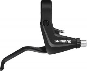 SHIMANO brzd. páka ALIVIO BL-T4000 pro V-brzdu pravá 2 prstá černá