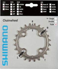 SHIMANO převodník MTB/Trekking-ostatní 24 z 10 spd trojpřevodník AE