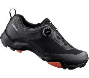 SHIMANO turistická obuv SH-MT701ML, černá, 43