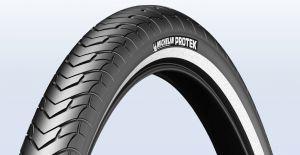 Plášť Michelin Protek 26x1,40 černý s reflexním pruhem