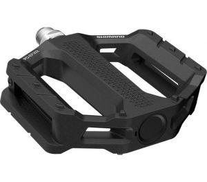 SHIMANO pedály MTB-ostatní PD-EF202 Flat pedály bez odrazek černá pro E-Bike/Trekking/Urban bal