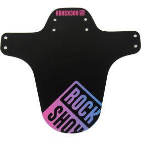 Blatník RockShox MTB černý s Pink/Blue Fade potiskem