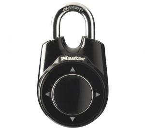 MasterLock visací zámek ONE, 7 mm x 27 mm x 19 mm, joystick, černá