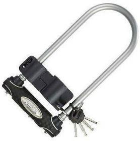MasterLock zámek podkova, 13 mm x 210 mm x 110 mm, klíč, šedá (8195)