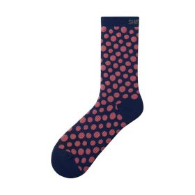 SHIMANO ORIGINAL TALL ponožky, námořní, bílá, M-L (41-44)