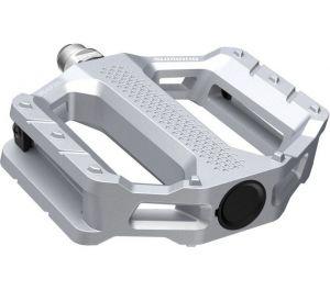 SHIMANO pedály MTB-ostatní PD-EF202 Flat pedály bez odrazek stříbrná pro E-Bike/Trekking/Urban bal