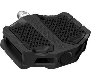 SHIMANO pedály MTB-ostatní PD-EF205 Flat pedály bez odrazek černá pro E-Bike/Trekking/Urban bal