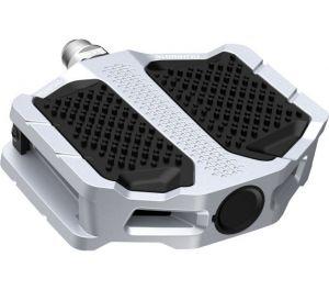 SHIMANO pedály MTB-ostatní PD-EF205 Flat pedály bez odrazek stříbrná pro E-Bike/Trekking/Urban bal